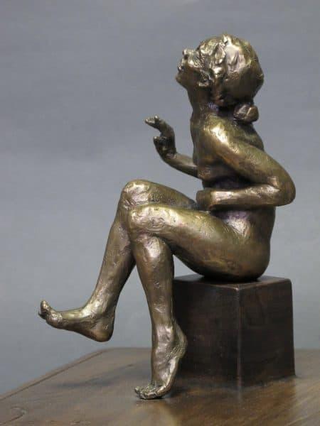 """American Legacy Fine Arts presents """"Into Oblivion"""" a sculpture by Alicia Ponzio."""