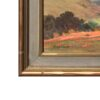 "American Legacy Fine Arts presents ""Untitled (California Landscape with Oaks and Poppies)"" a painting by George Sanders Bickerstaff."