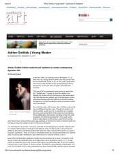 American Legacy Fine Arts presents Adrian Gottlieb in Southwest Magazine, September 2011 Issue.