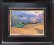"American Legacy Fine Arts presents ""Condor's Ridge: Tejon Ranch"" a painting by Alexey Steele."