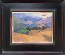 "American Legacy Fine Arts presents ""Condor's Ridge: Tejon Ranch"" a painting by Alexey Steele."