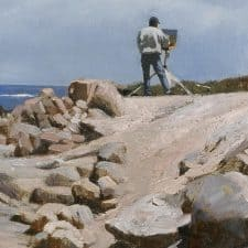 "American Legacy Fine Arts presents ""Plein Air"" a painting by Warren Chang."