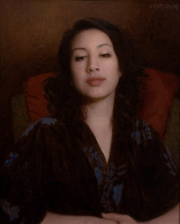 "American Legacy Fine Arts presents ""Satis"" a painting by Adrian Gottlieb."