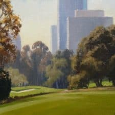 "American Legacy Fine Arts presents ""The Great Escape"" a painting by Michael Obermeyer."