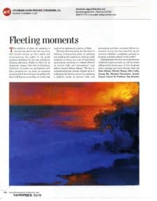 "American Art Collector features ALFA's ""Fleeting Moments: Works en Plein Air"" exhibition."
