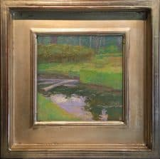 "American Legacy Fine Arts presents ""Still Waters"" a painting by Daniel W. Pinkham."