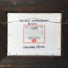 "American Legacy Fine Arts presents ""Valiant Adversaries, Laguna California"" a painting by Jennifer Moses."