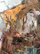 """American Legacy Fine Arts presents """"In Santa Barbara Harbor"""" a painting by Jove Wang."""