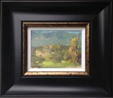 "American Legacy Fine Arts presents ""Santa Ynez Mountains"" a painting by Jove Wang."