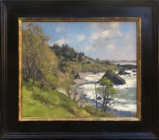 "American Legacy Fine Arts presents ""Coastal Spring"" a painting by Jim McVicker."