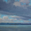 "American Legacy Fine Arts presents ""Lake Washington Three"" a painting by Tony Peters."
