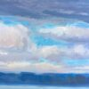 "American Legacy Fine Arts presents 'Lake Washington Three"" a painting by Tony Peters."