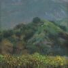 "American Legacy Fine Arts presents ""Eaton Canyon Mist and Flowers' a painting by William Stout."