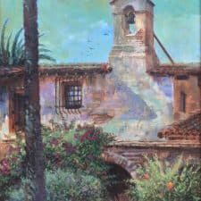 American Legacy Fine Arts Presents Mission San Juan Capistrano A Painting By William Stout