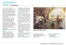 American Legacy Fine Arts presents Christopher Cook in Southwest Art Magazine September 2016.