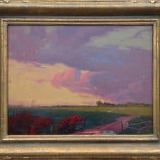 "American Legacy Fine Arts presents ""After the Rain; Carson, California"" a painting by Alexey Steele."