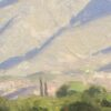 "American Legacy Fine Arts presents ""Ojai Morning Light"" a painting by Dan Shultz."