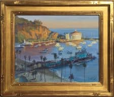 "American Legacy Fine Arts presents ""Mornings Glow"" a painting by John Cosby."
