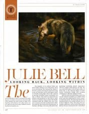 American Legacy Fine Arts presents Julie Bell in Fine Art Connoisseur magazine Summer 2017.