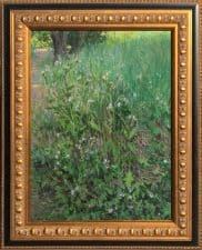 "American Legacy Fine Arts presents ""Thistles"" a painting by Ramón Hurtado."