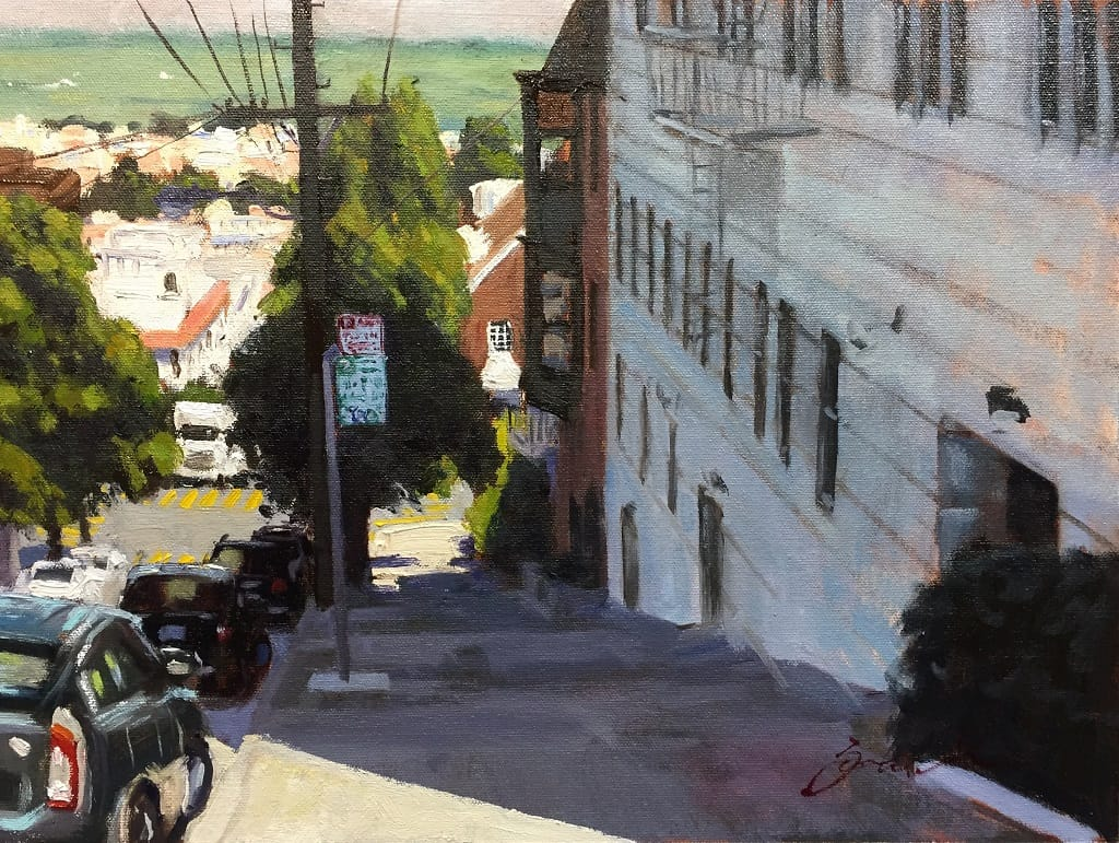 Buchanan Street View San Francisco American Legacy Fine