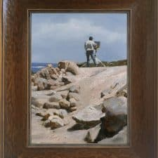 """American Legacy Fine Arts presents """"Plein Air"""" a painting by Warren Chang."""