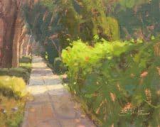 "American Legacy Fine Arts presents ""Linda Vista"" a painting by Dan Schultz."