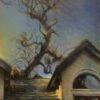 "American Legacy Fine Arts presents 'Keep on Rising; View of Adams Studio"" a painting by Nikita Budkov."