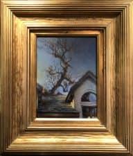 "American Legacy Fine Arts presents ""Keep on Rising; View of Adams Studio"" a painting by Nikita Budkov."