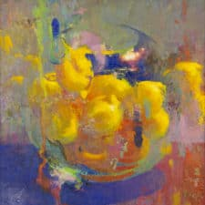 "American Legacy Fine Arts presents ""Lemon Hearth"" a painting by Christopher Cook."