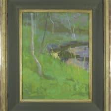 "American Legacy Fine Arts presents ""Dusk"" a painting by Daniel W. Pinkham."