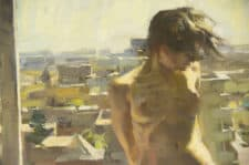"American Legacy Fine Arts presents ""City Breeze"" a painting by Quang Ho."