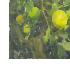 "American Legacy Fine Arts presents ""California Lemon Tree"" a painting by Quang Ho."