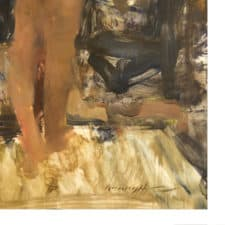 "American Legacy Fine Arts presents ""Standing Figure"" a painting by Quang Ho."