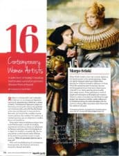 American Legacy Fine Arts presents Teresa Oaxaca in American Art Collector Magazine, March 2018.