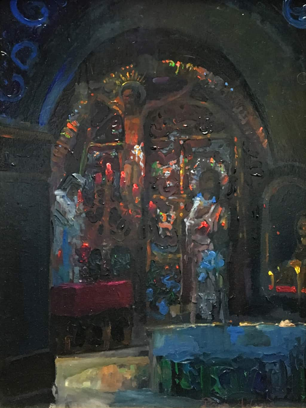 Golgotha Station 12 Inside The Church Of The Holy
