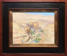 "American Legacy Fine Arts presents ""St. George's Greek Orthodox Monastery"" a painting by Peter Adams."