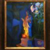 "American Legacy Fine Arts presents "" St. Paul, the Light of Ephesus"" a painting by peter Adams."