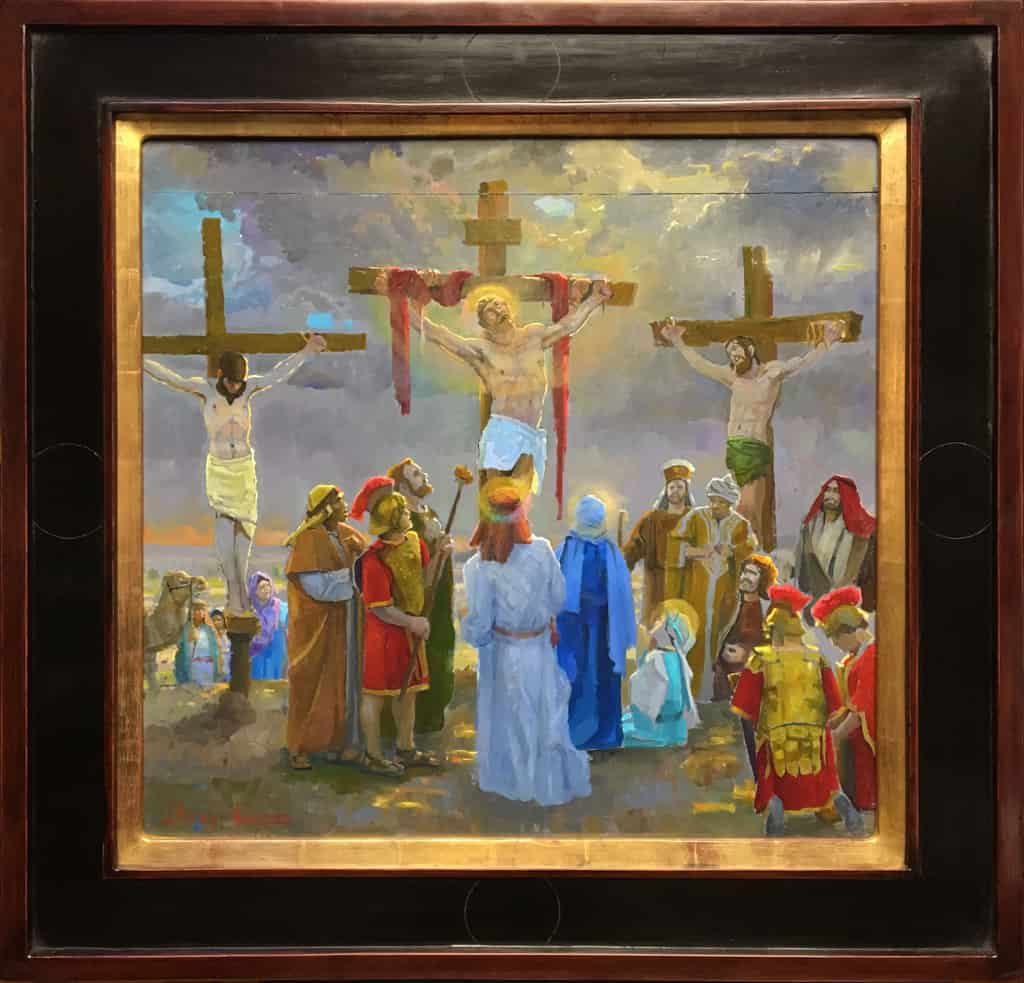 Study For The 12th Station The Crucifixion Scene