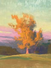 "American Legacy Fine Arts presents ""The Last Flame of Day"" a painting by Alexey Steele"