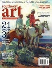 American Legacy Fine Arts presents Ramon Hurtad in Southwest Art Magazine, September 2017.