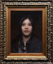 """American Legacy Fine Arts presents """"An Exotic Beauty"""" a painting by Adrian Gottlieb."""