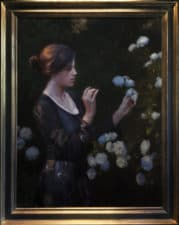 "American Legacy Fine Arts presents ""Anticipation"" a painting by Adrian Gottlieb."