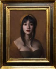 "American Legacy Fine Arts presents ""Aria"" a painting by Adrian Gottlieb."