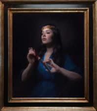 "American Legacy Fine Arts presents ""Medea"" a painting by Adrian Gottlieb."