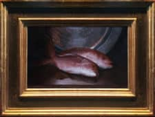 "American Legacy Fine Arts presents ""Red Snapper"" a painting by Adrian Gottlieb."