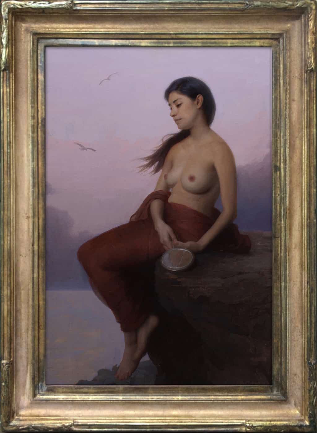 "American Legacy Fine Arts presents ""Siren Song"" a painting by Adrian Gottlieb."