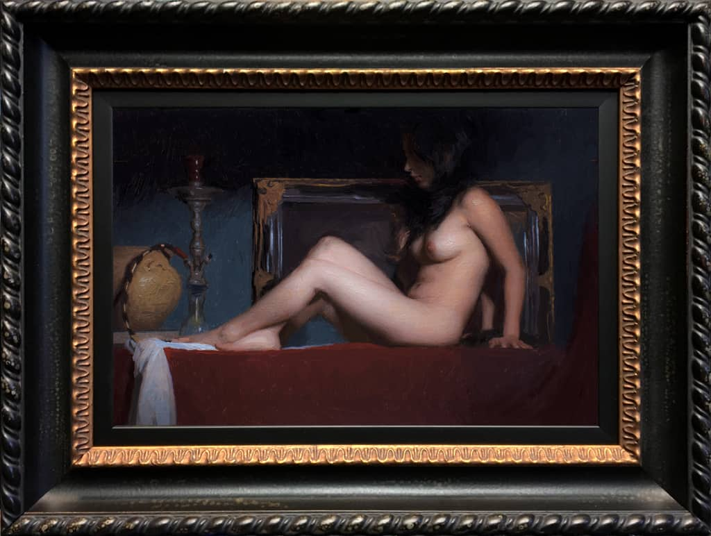 "American Legacy Fine Arts presents ""Study for Pasithea"" a painting by Adrian Gottlieb."