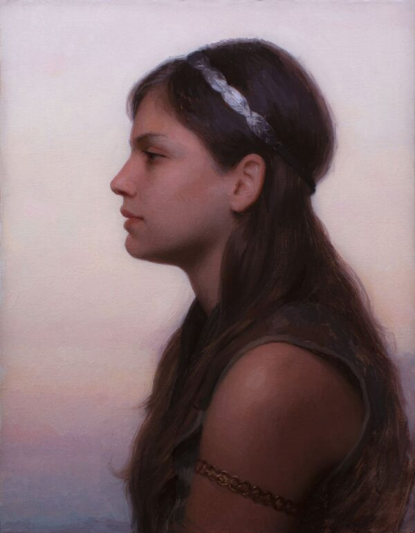 "American Legacy Fine Arts presents ""Sunrise"" a painting by Adrian Gottlieb."