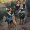 "American Legacy Fine Arts presents ""Family Helping Hands"" a painting by Mian Situ."